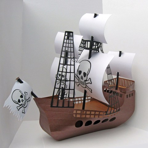pirate ship sails template - pirate ship template