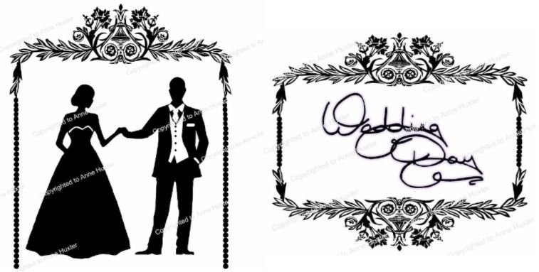 Onrate Wedding Frame