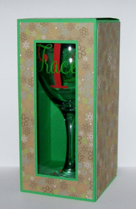 box for 9 inch wine glass