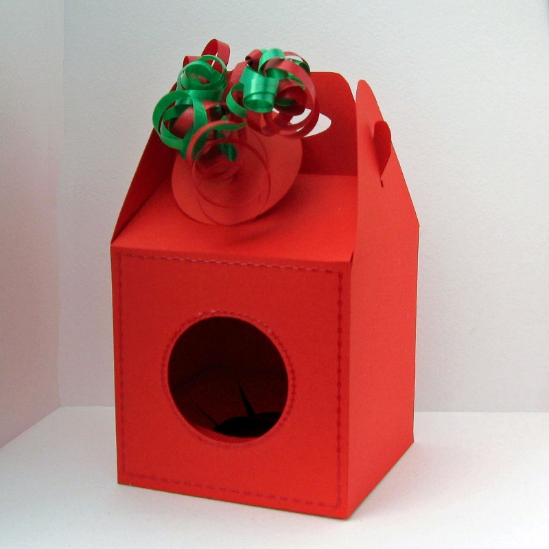 80mm Christmas Bauble Box Template