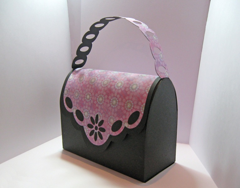 handbag gift bag template