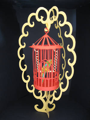 Bird Cage & Stand Templates