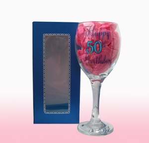 Wine Glass Box 7 3/4 Inch Tall Template